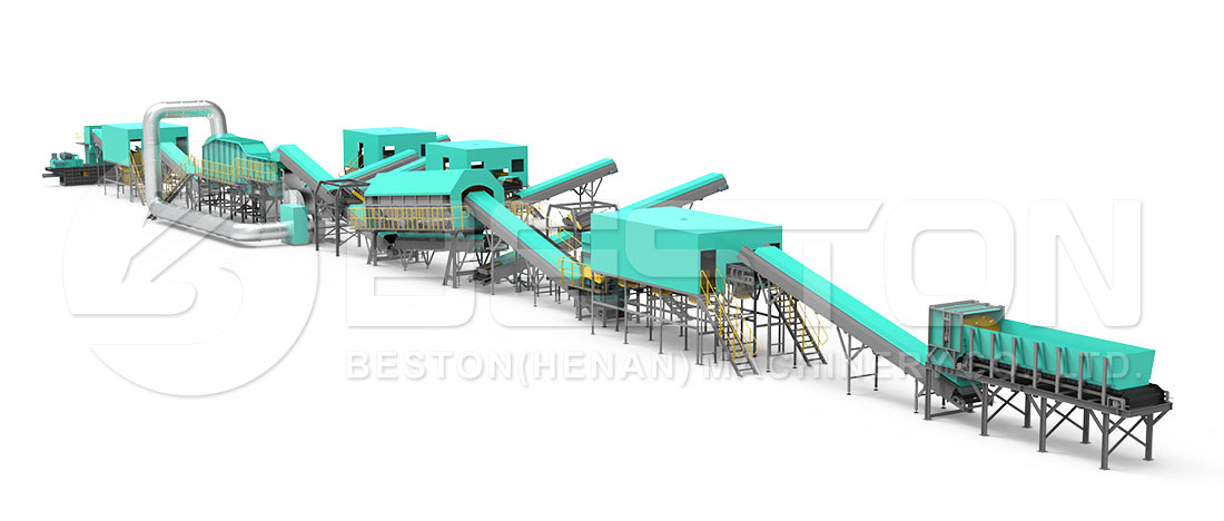 Design Of Solid Waste Treatment Plant